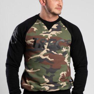 Trec Sweatshirt Camo - Black