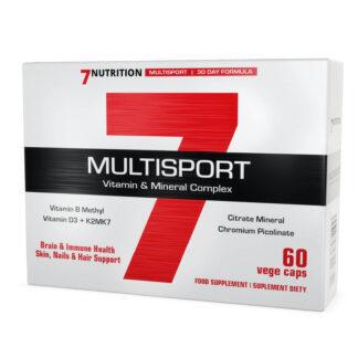 7Nutrition Multisport Vitamin & Mineral - 60 kaps.