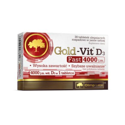 Olimp Gold Vit D3 4000 - 30 tabl.