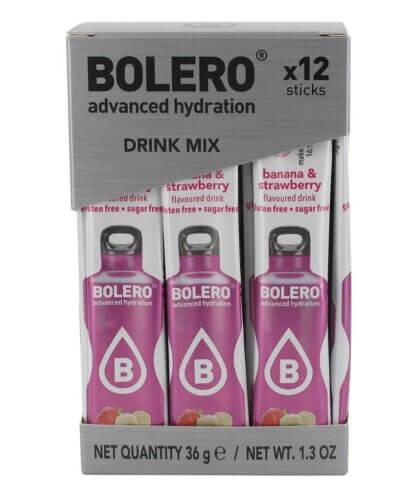 Bolero STICKS Bannana Strawberry -12 szt.