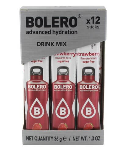 Bolero STICKS Strawberry -12 szt.