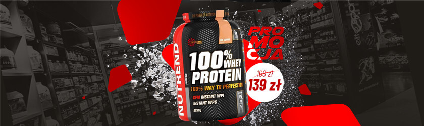 Nutrend Whey Protein Baner
