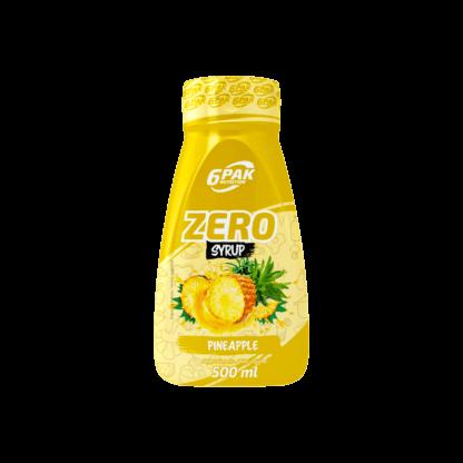 6PAK Nutrition Sauce ZERO Pineapple – 500ml