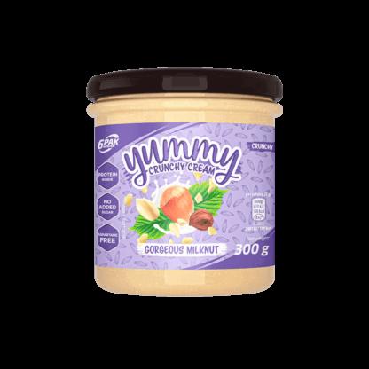 6PAK Yummy Cream Gorgeous Milknut - 300g