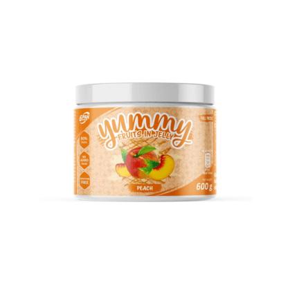 6Pak Yummy Fruits in Jelly Peach - 600g