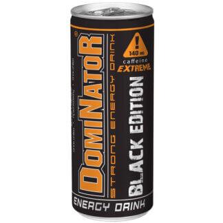 Olimp Dominator Strong Energy Drink Black Edition - 250 ml