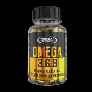 Real Pharm Omega 3-6-9 - 90 kaps.