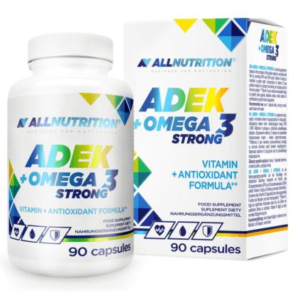 AllNutrition ADEK + Omega 3 Strong - 90 kaps.