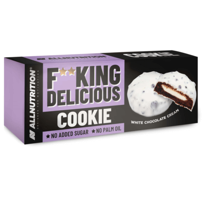 AllNutrition Fitking Delicious Cookie White Chocolate Cream - 128g