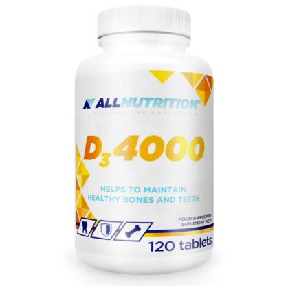 AllNutrition D3 4000 - 120 tabl.