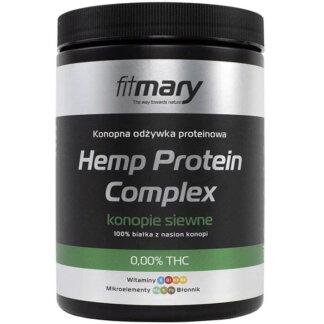 Fit Mary Hemp Protein Complex Białko Konopne