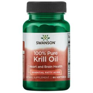 Swanson Krill Oil 500mg - 60 kaps.