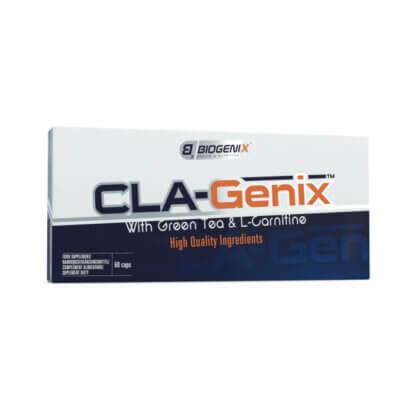Biogenix CLA-Genix with Green Tea & L-Carnitine - 60 kaps.