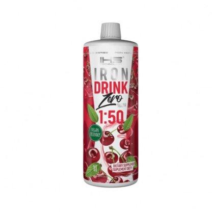 IHS Iron Drink Zero - 1000ml Wisnia