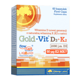 Olimp Gold-Vit D3+K2 - 60 kaps.