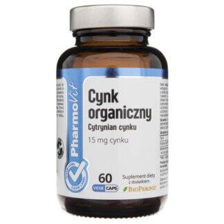 Pharmovit Cynk Organiczny - 60 kaps.